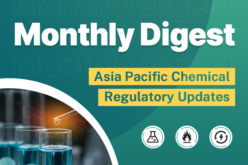Monthly Digest: Chemical Regulatory Updates in Asia-Pacific Region in September 2020