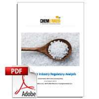China Salt Industry Regulatory Analysis