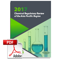 2017 Chemical Regulatory Review of the Asia Pacific Region