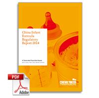 China Infant Formula Regulatory Report 2014