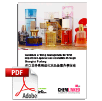 Guidance of Filing Management for First Import Non-special Use Cosmetics through Shanghai Pudong