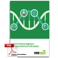 2016 Chemical Regulatory Review of the Asia Pacific Region