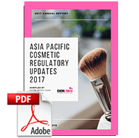 Asia Pacific Cosmetic Regulatory Updates 2017