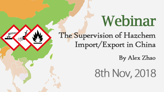 Inspection and Supervision of Import and Export of Hazardous Chemicals in China