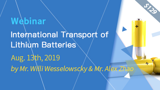 International Transport of Lithium Batteries