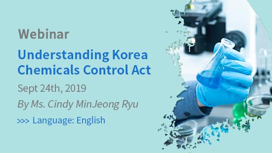 Understanding Korea Chemicals Control Act