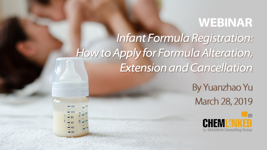Infant Formula Registration: How to Apply for Formula Alteration, Extension and Cancellation