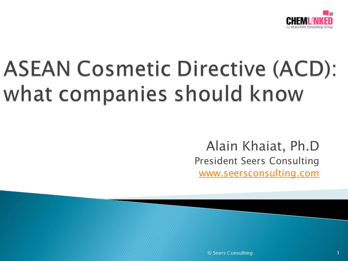 [Anniversary Series 3]ASEAN Cosmetic Directive (ACD): what companies should know