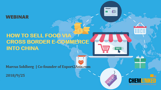 How to Sell Food via Cross Border E-Commerce into China