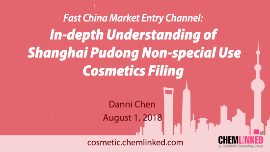 Fast China Market Entry Channel: In-depth Understanding of Shanghai Pudong Non-special Use Cosmetics Filing