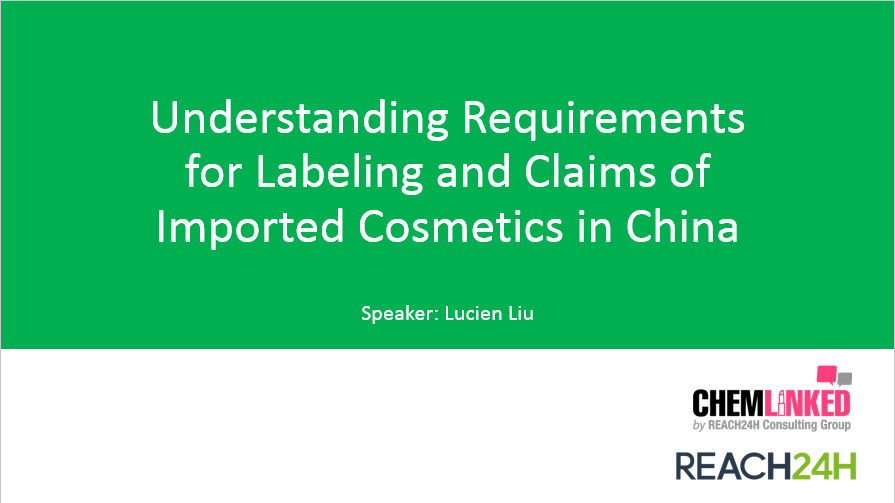 Understanding Requirements for Labeling and Claims of Imported Cosmetics in China