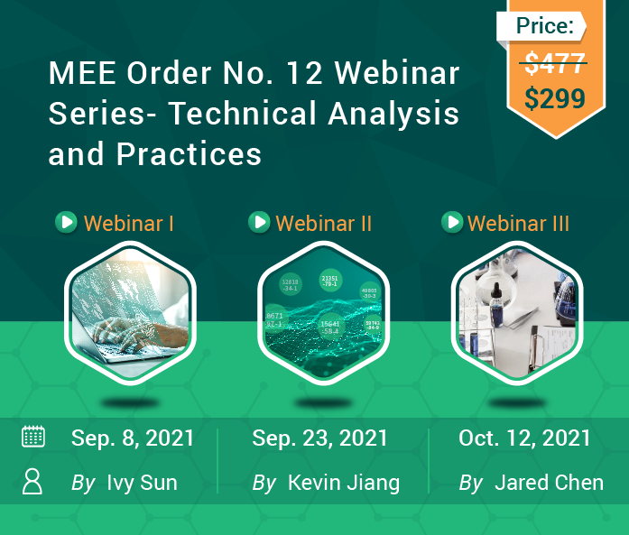 Webinar Series on Measures for the Environmental Management Registration of New Chemical Substances (MEE Order No.12)- Technical Analysis and Practices