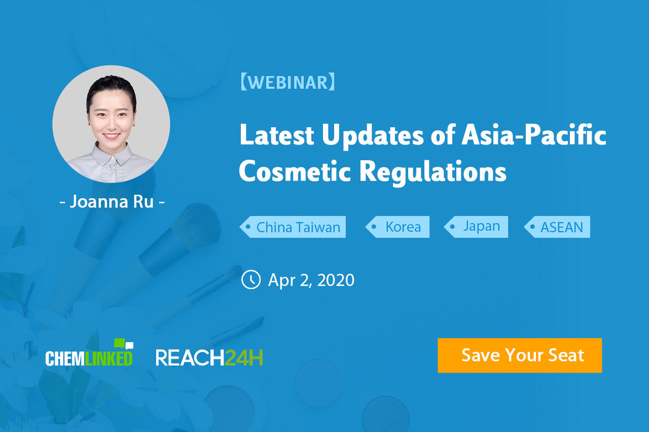 Latest Updates of Asia-Pacific Cosmetic Regulations