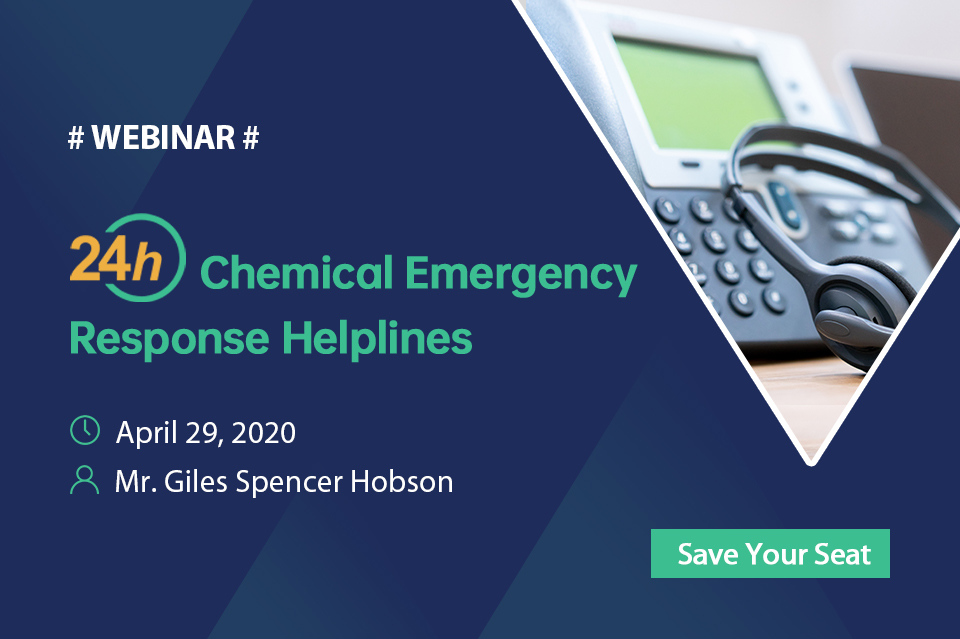 24-Hour Chemical Emergency Response Helplines