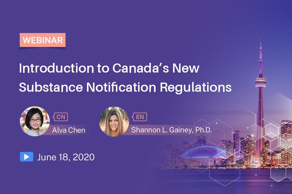 Introduction to Canada's New Substance Notification Regulations
