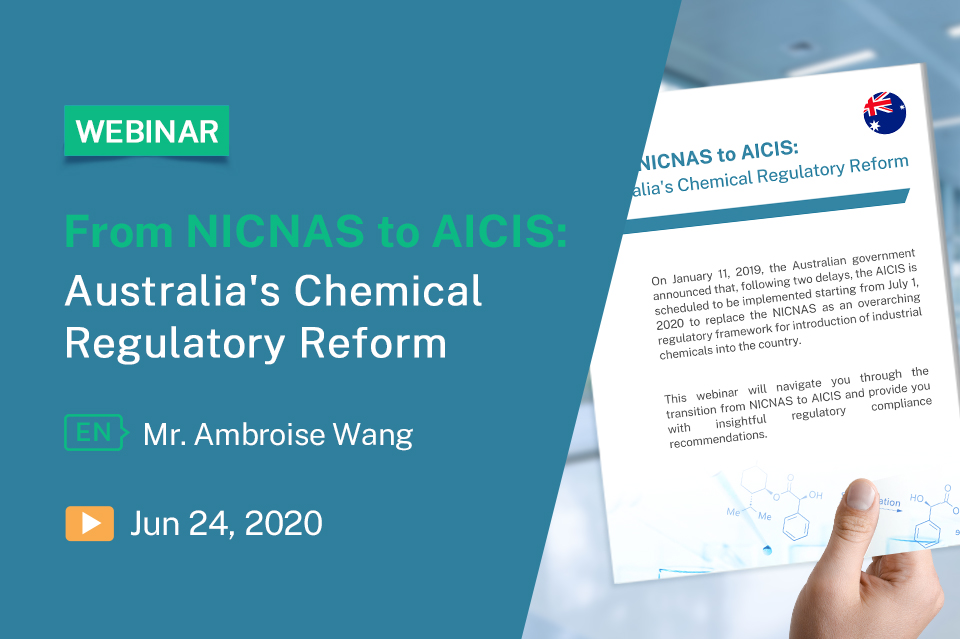 From NICNAS to AICIS: Australia's Chemical Regulatory Reform
