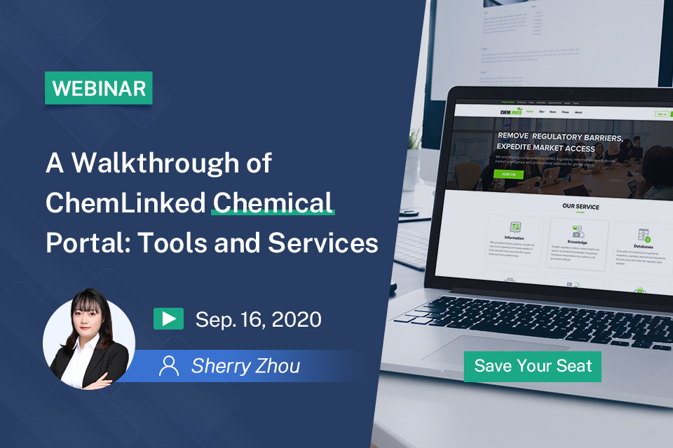A Walkthrough of ChemLinked Chemical Portal: Tools and Services