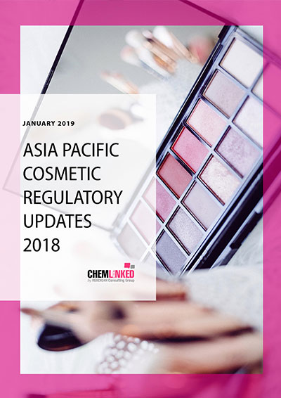 Asia Pacific Cosmetic Regulatory Updates 2018