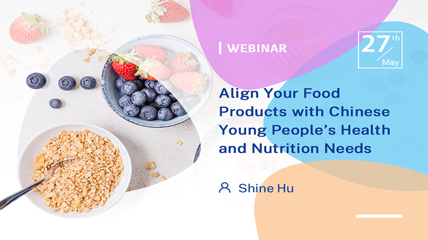 Align Your Food Products with Chinese Young People's Health and Nutrition Needs