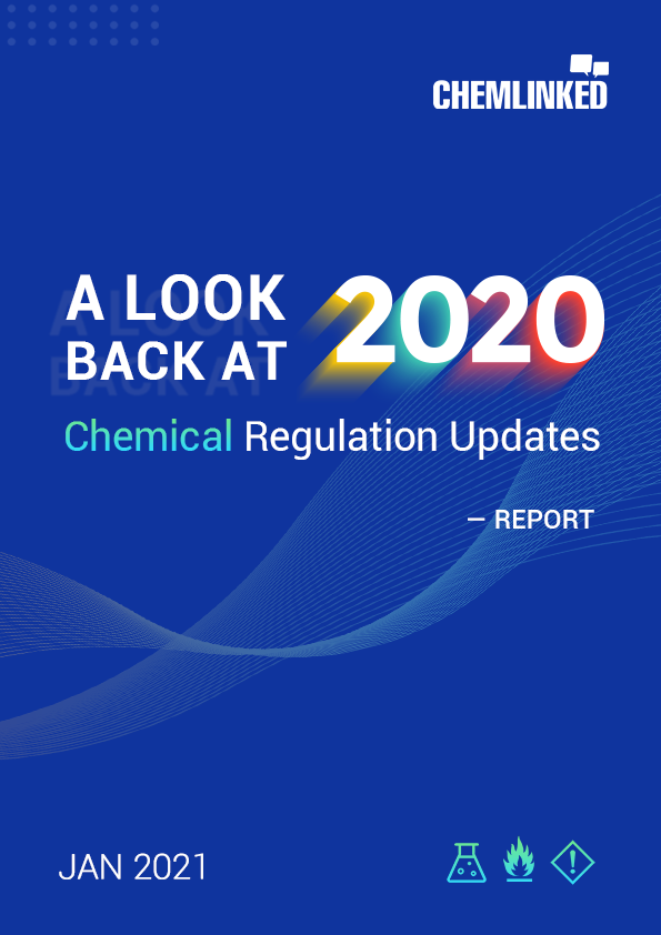 A Look back at 2020 with ChemLinked: Chemical Regulation Updates