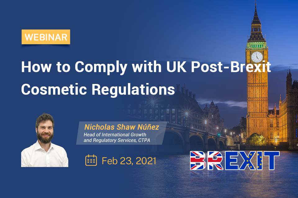 How to Comply with UK Post-Brexit Cosmetic Regulations