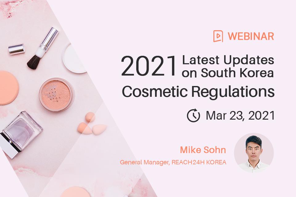 Latest Updates on South Korea Cosmetic Regulations