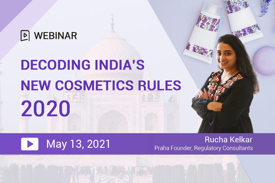 Decoding India's New Cosmetics Rules 2020