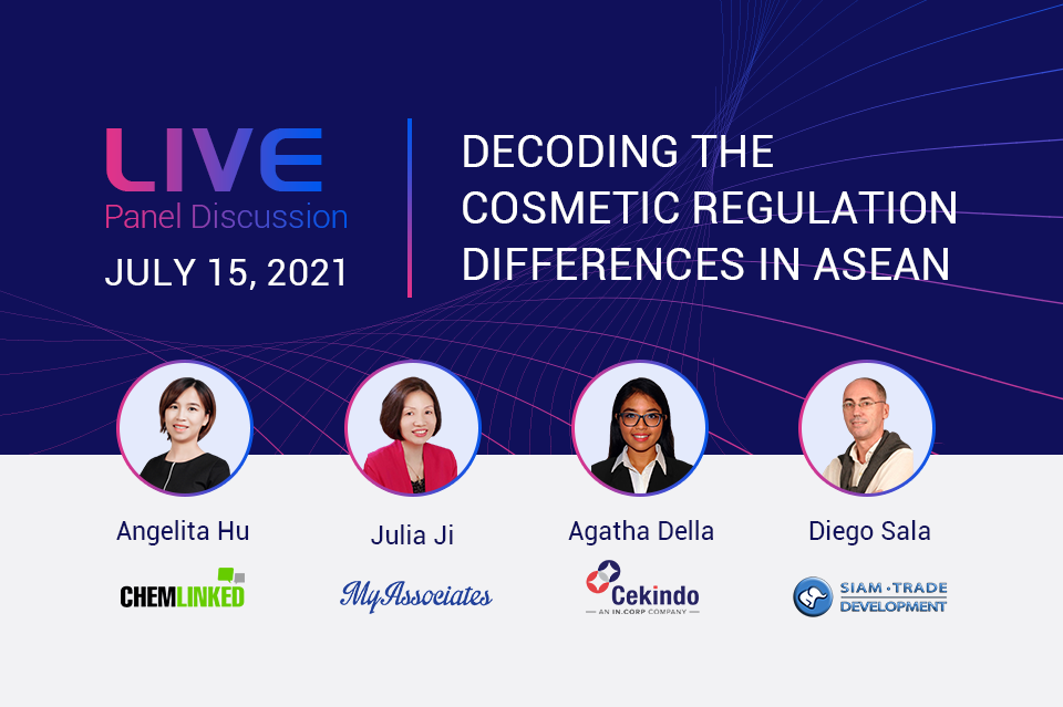 Live Panel Discussion: Decoding the Cosmetic Regulation Differences In ASEAN