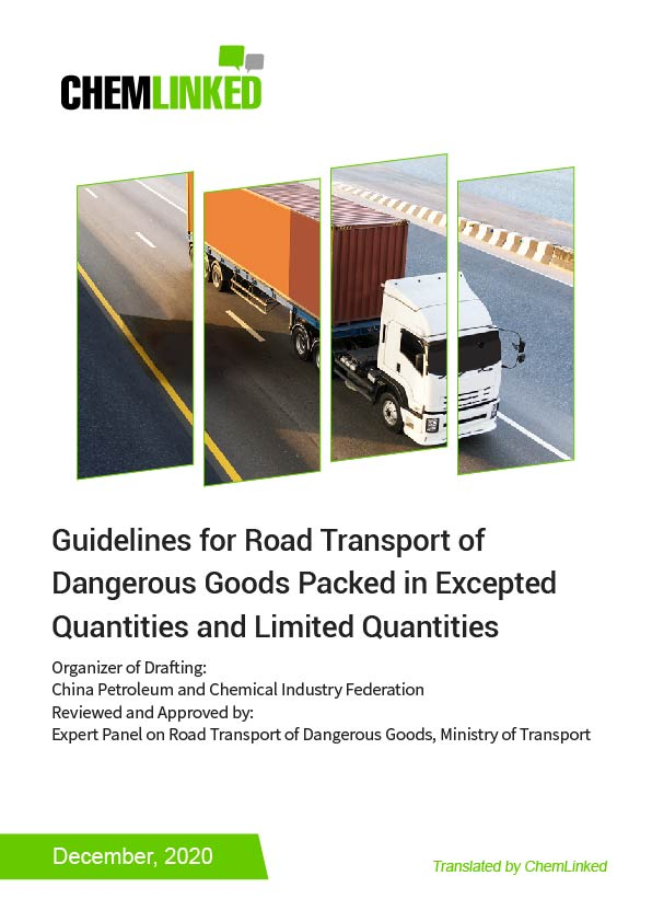 Guidelines for Road Transport of Dangerous Goods Packed in Excepted Quantities and Limited Quantities