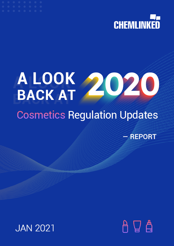 A Look back at 2020 with ChemLinked: Cosmetic Regulation Updates
