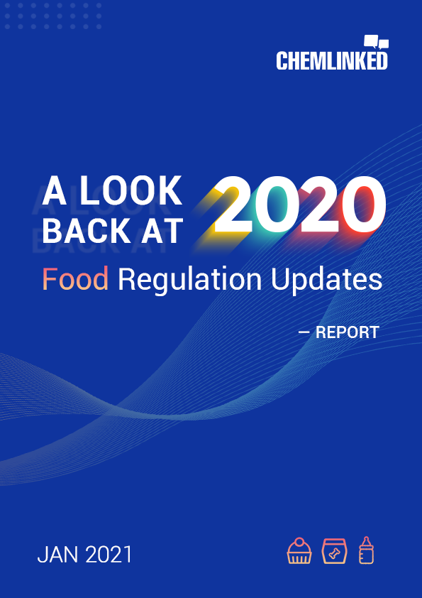 A Look back at 2020 with ChemLinked: Food Regulation Updates