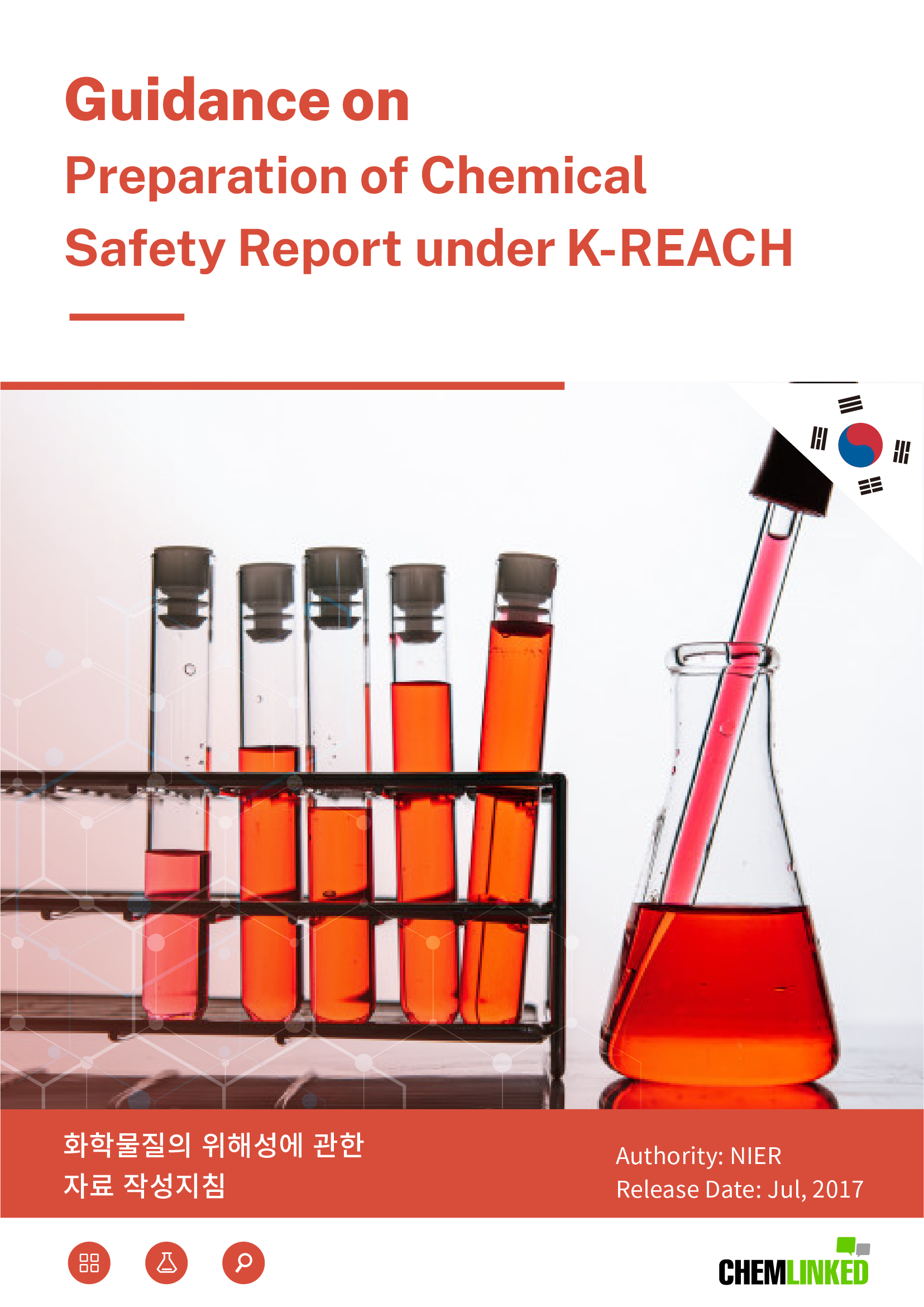 K-REACH: Guidance on Preparation of Chemical Safety Report