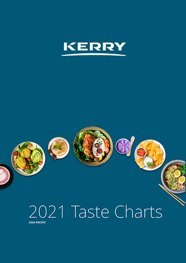 2021 Asia Pacific Kerry Taste Charts