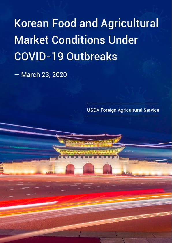 Korean Food and Agricultural Market Conditions Under COVID-19 Outbreaks
