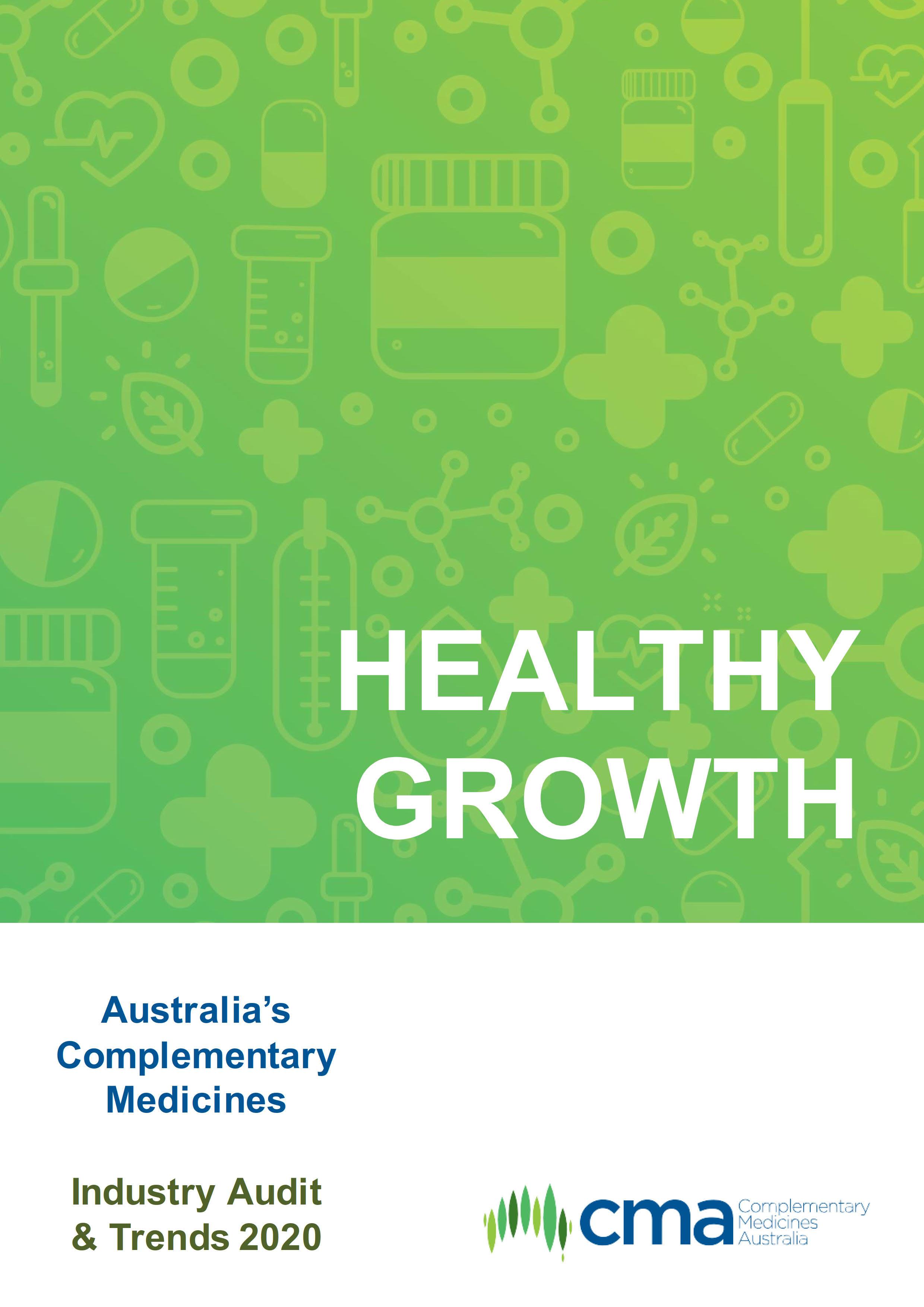 Australia's Complementary Medicines Industry Audit & Trends 2020