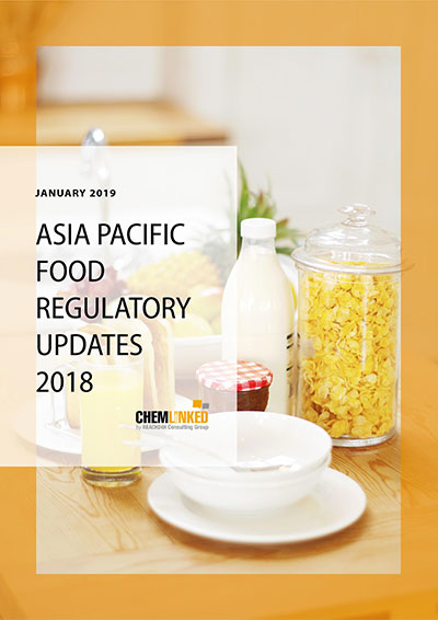 Asia Pacific Food Regulatory Updates 2018