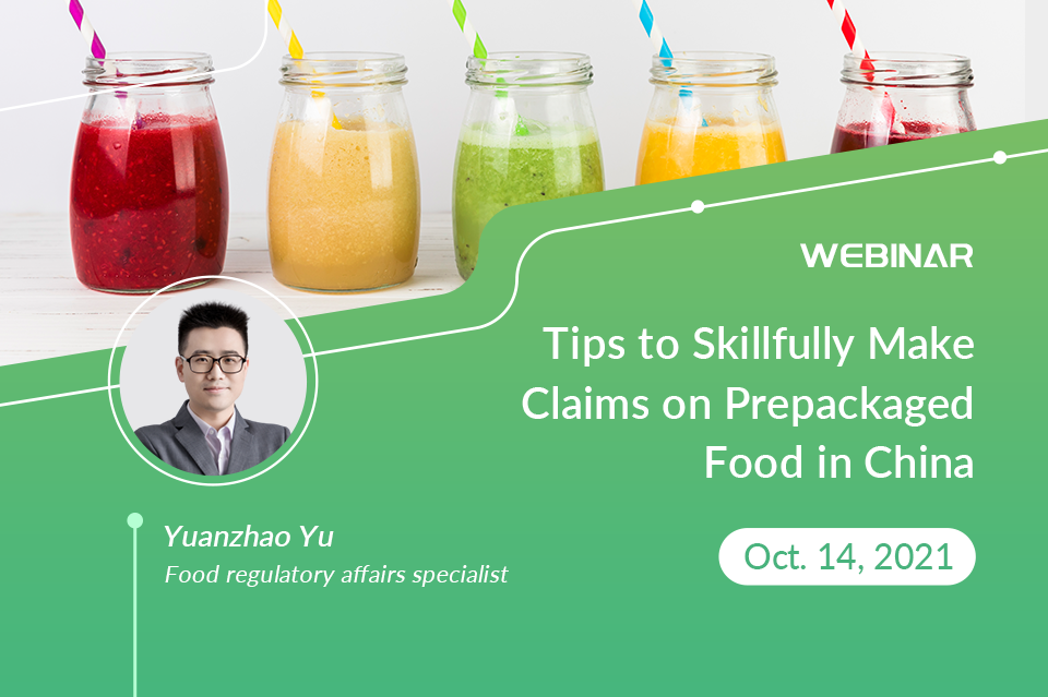 Tips to Skillfully Make Claims on Prepackaged Food in China