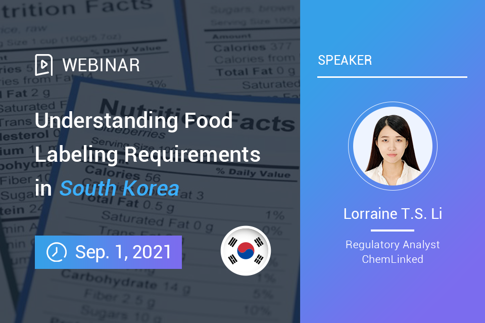 Understanding Food Labeling Requirements in South Korea