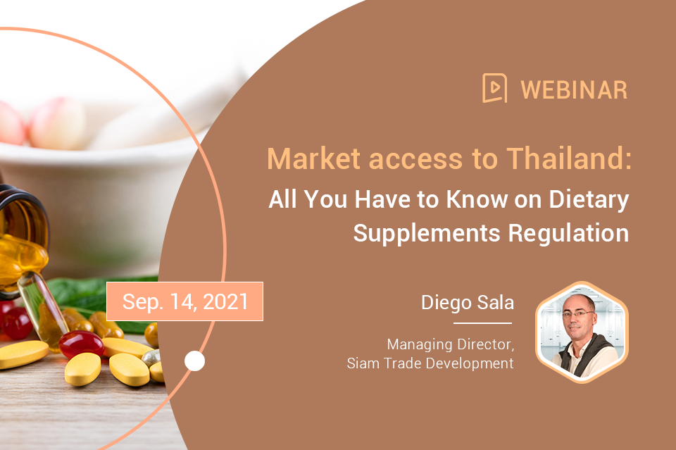 Market Access to Thailand: All You Have to Know on Dietary Supplements Regulation