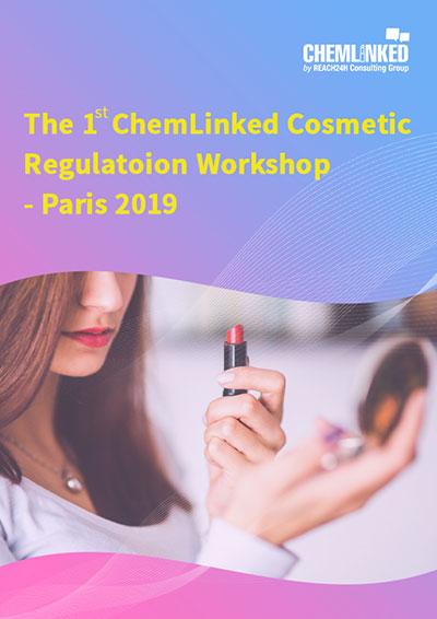 Presentation Slides of the First ChemLinked Cosmetic Regulation Workshop