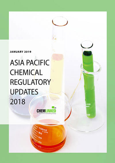 Asia Pacific Chemical Regulatory Updates 2018